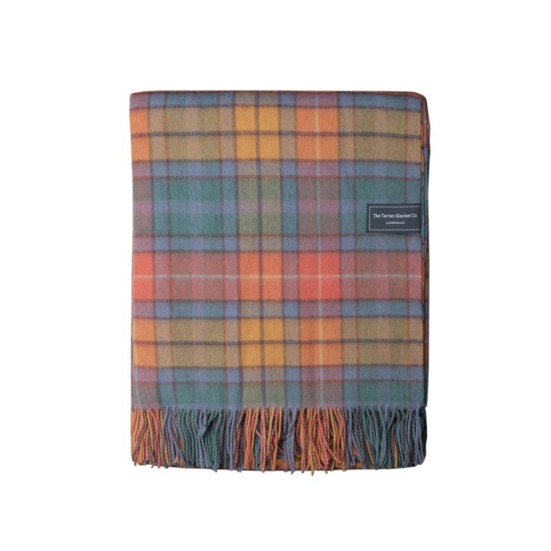 Lambswool Blanket In Buchanan Antique Tartan image