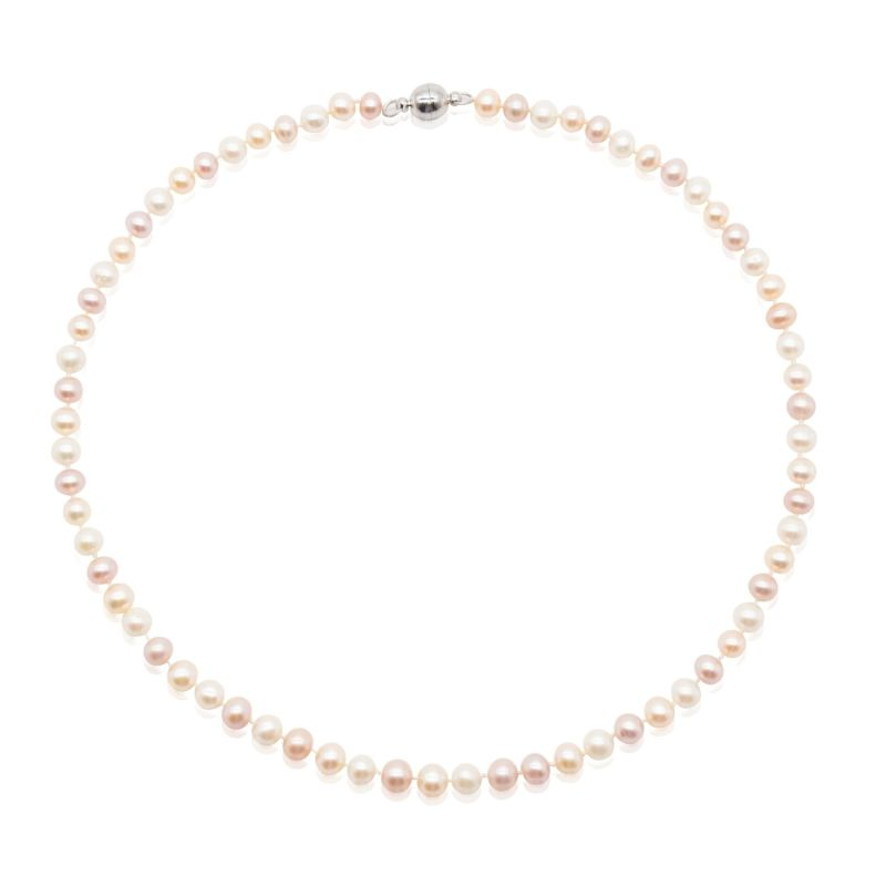 Ava Pastel Pearl Necklace image
