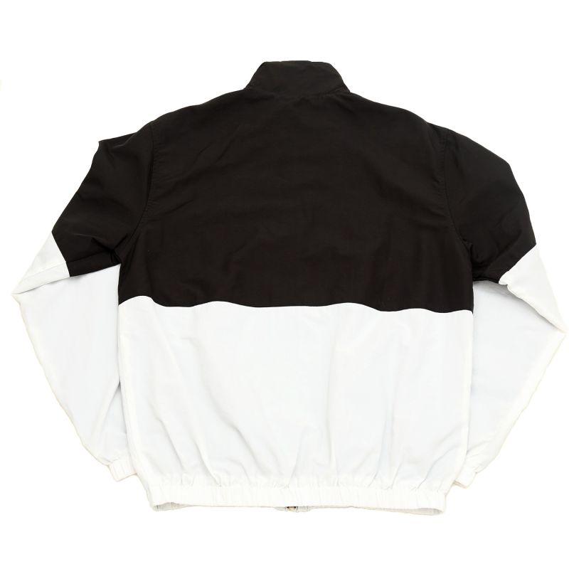 Adelphi Woven Track Top- Black & White image