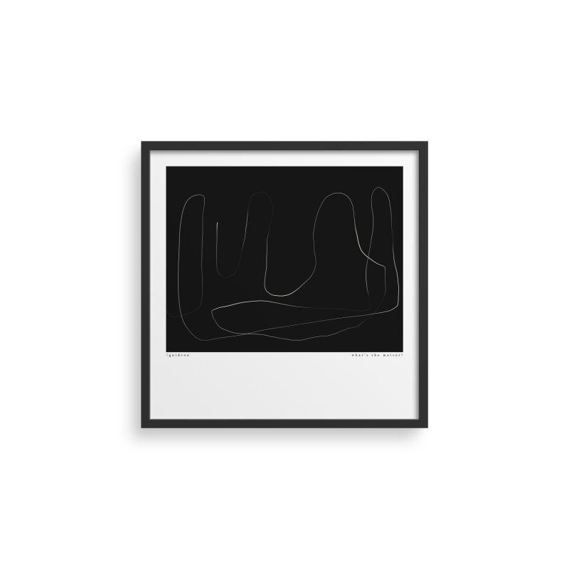 Trace 16 Print - 50x50 image