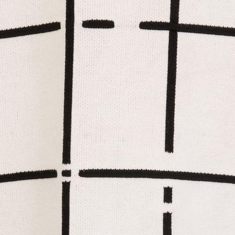 Black&White Check Jumper image