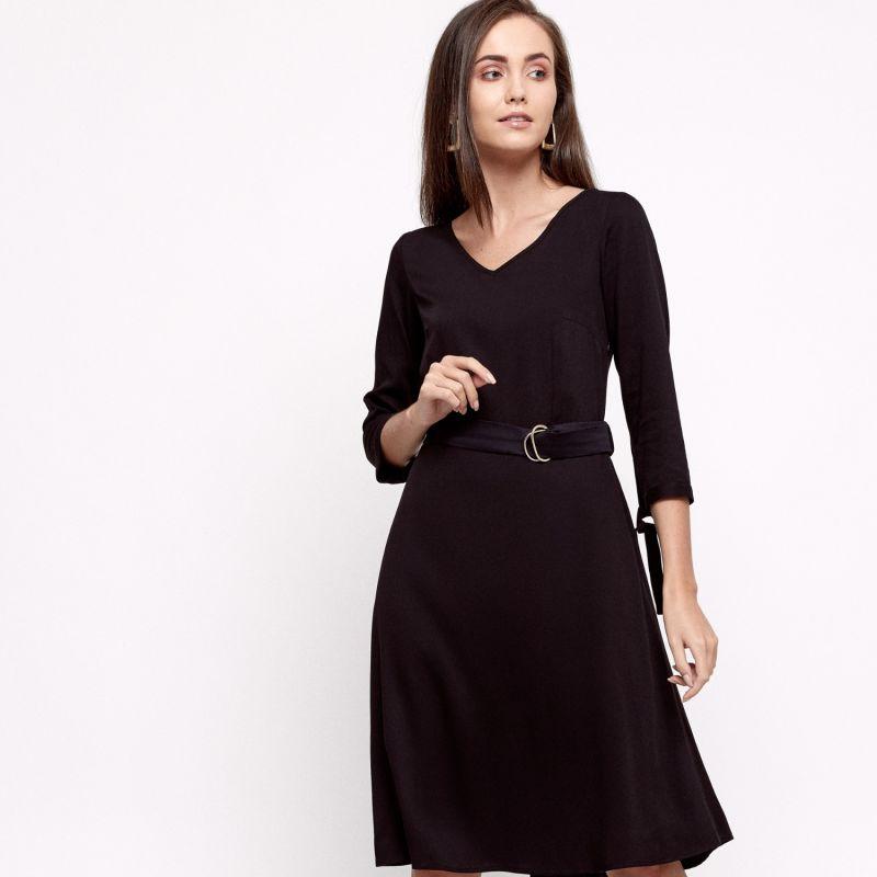 Kira Black Dress image