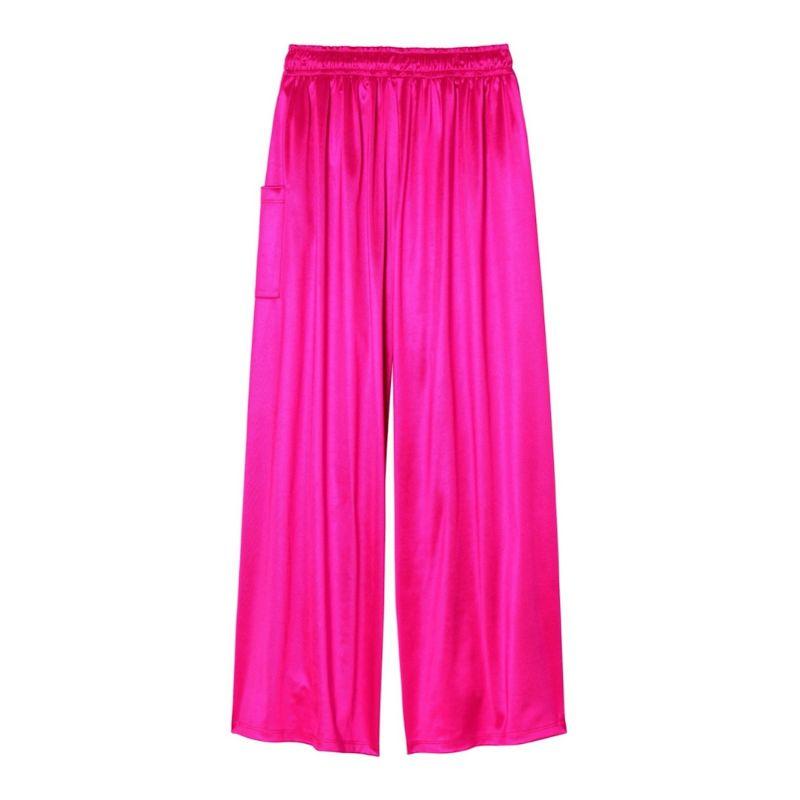 Electric Pink Wide Leg Lounge Pant image