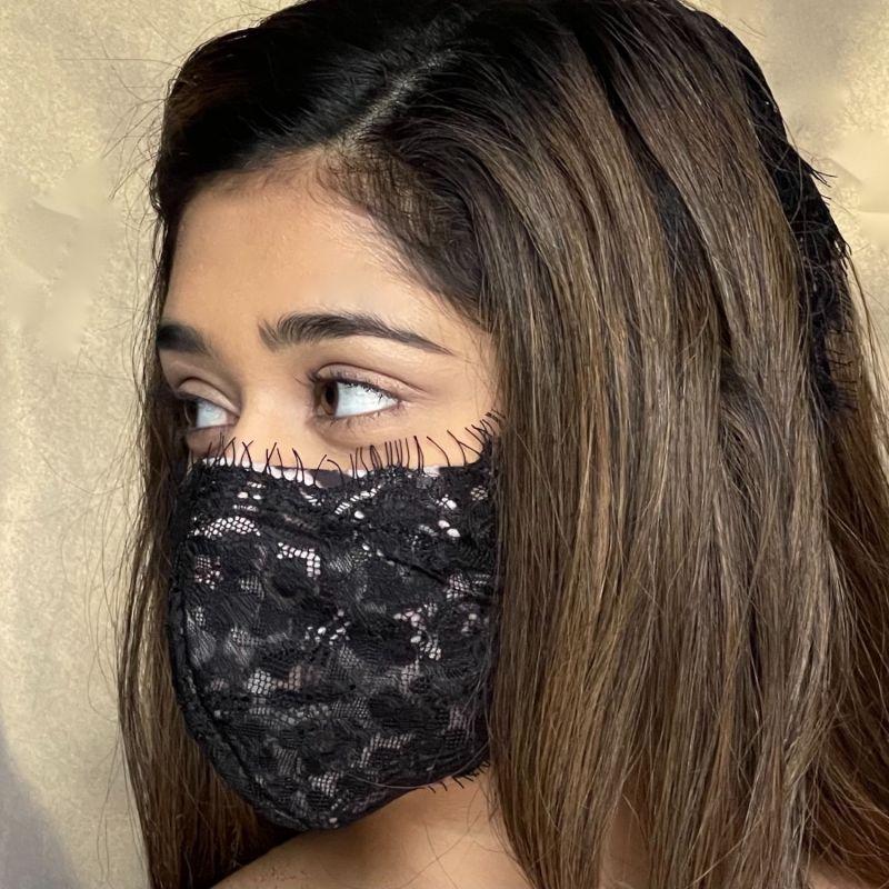 Leopard Passion Lace Mask image