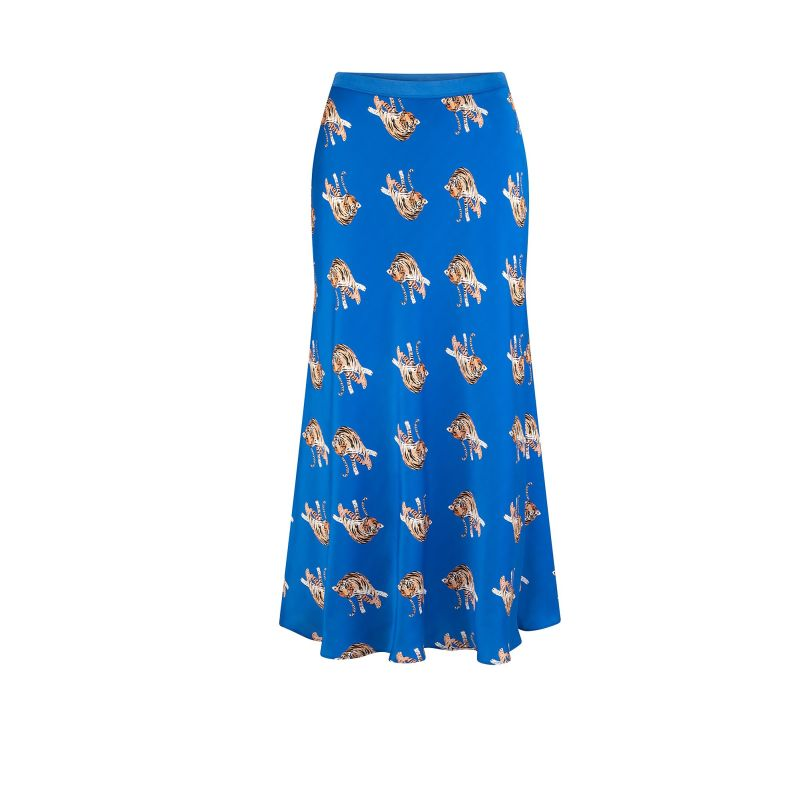 Tallow Skirt Blu Tiger image