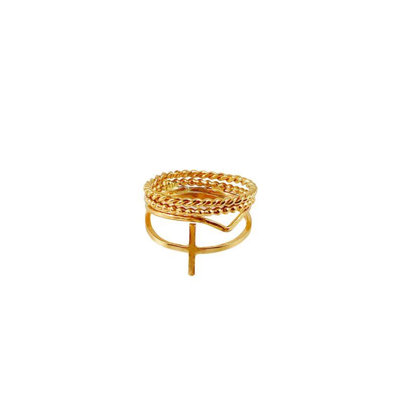 Cross Stack Ring image