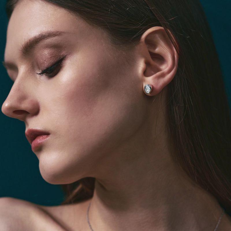 Grasse Oval Cut Earrings image