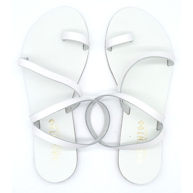 Toe Ring Sandals Mania White image
