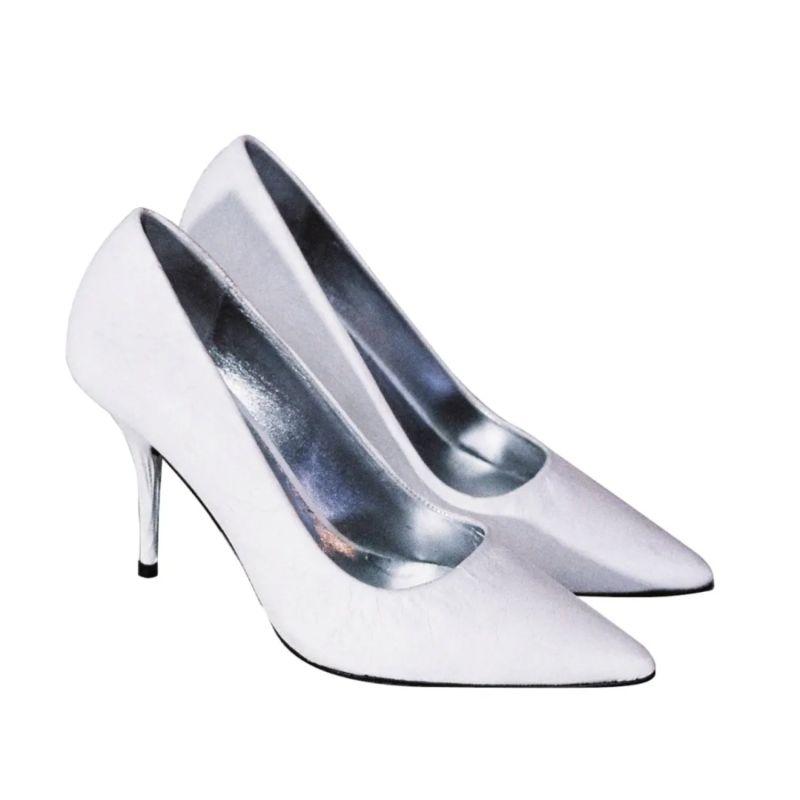 Dorian White Heels image