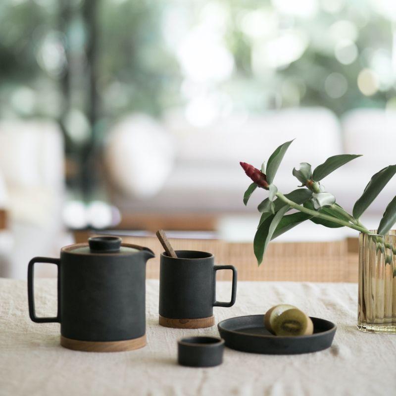 Santi Ceramic Coffee & Tea Mug - Dark Ash image