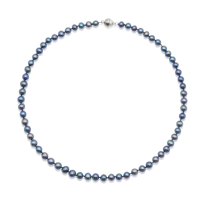 Ava Blue Pearl Necklace image