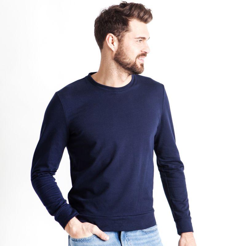 Soft Sweater For Hugging Him - Navy image