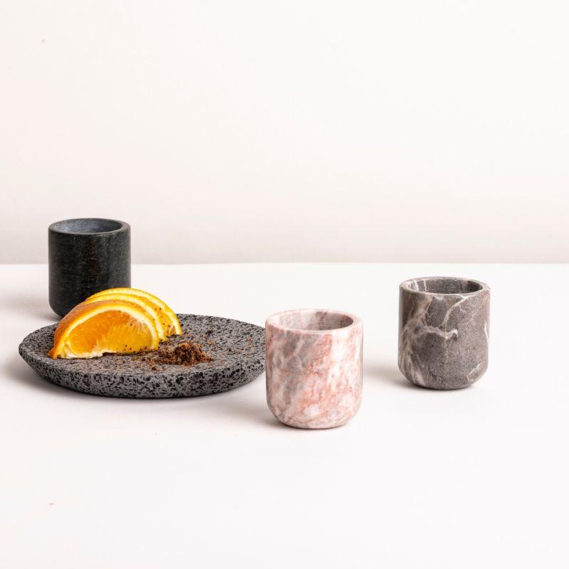 Mezcaleros Ciclades Pink Marble - 4 Pieces image
