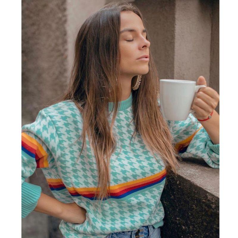 Knitwear Mint Milk Sweater image