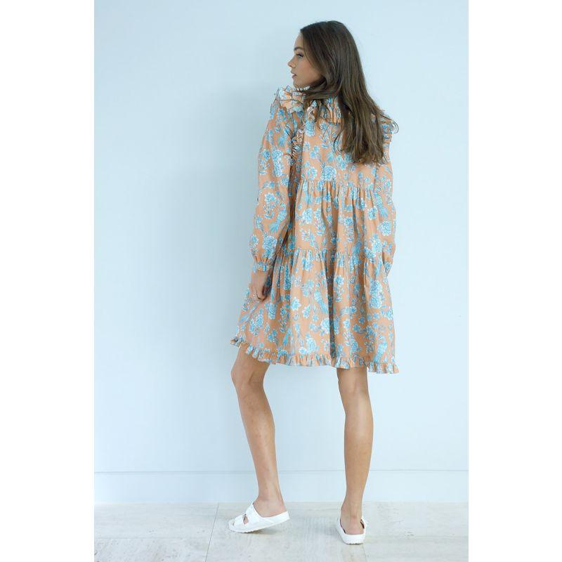 Serendipity Chinoiserie Ruffle Dress image