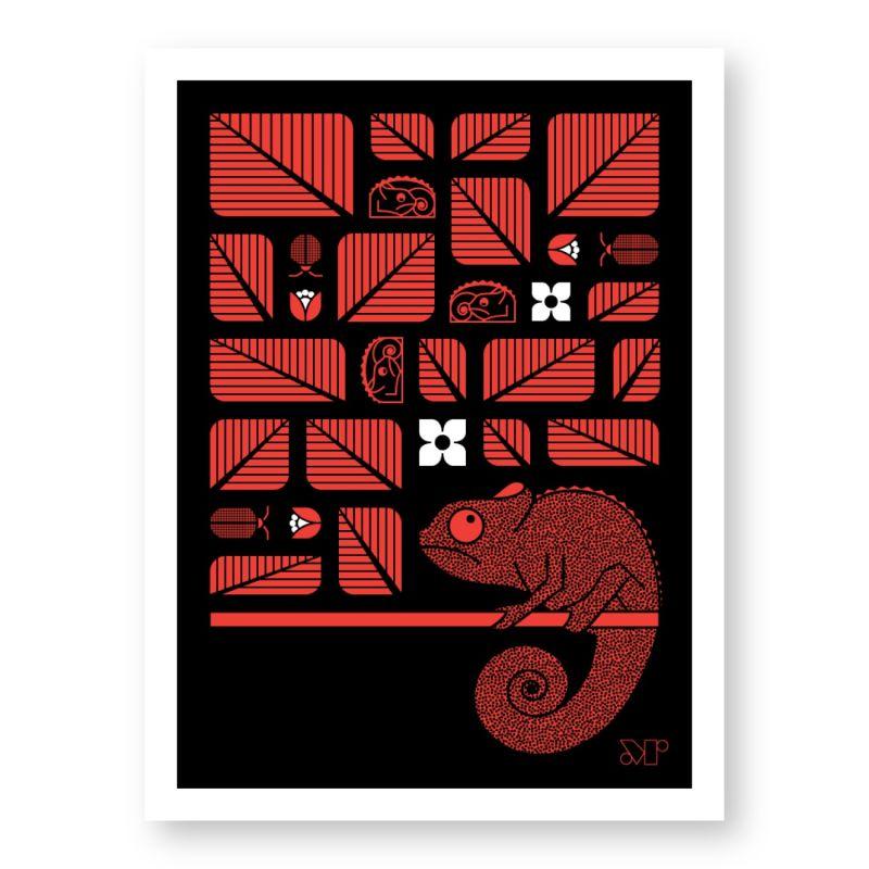 Chamelot Print image