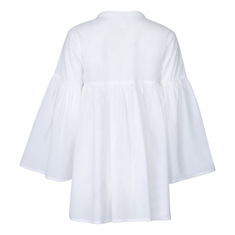 Bell Sleeve Tassel Blouse image