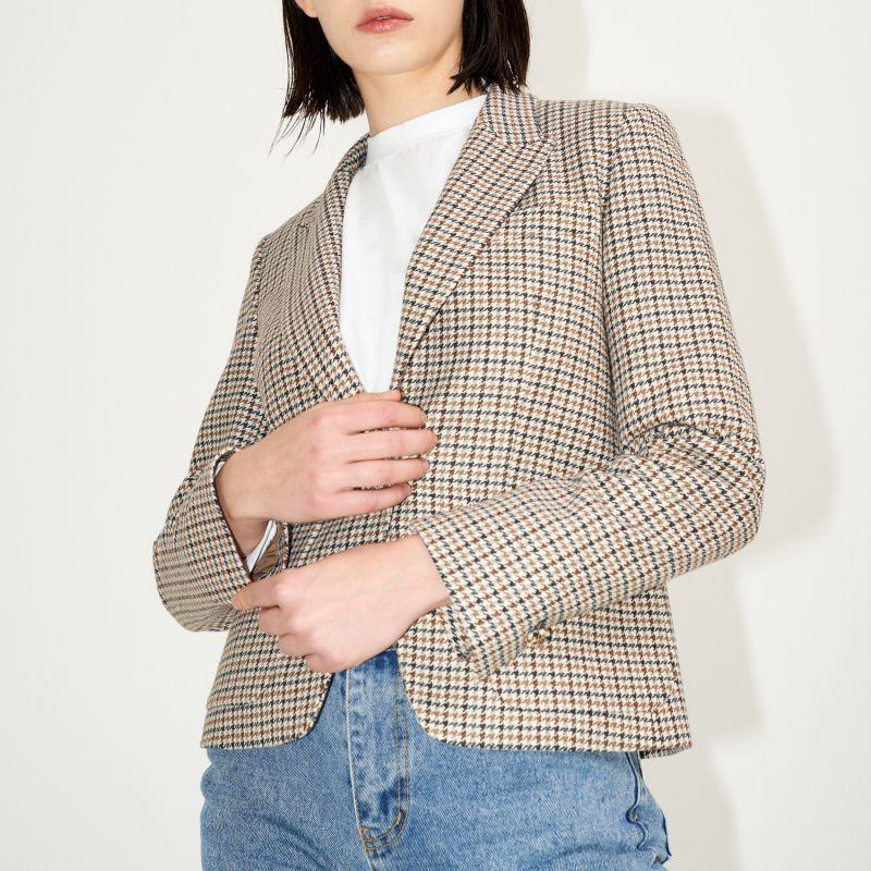 Carol Tailored Jacket Ivory image
