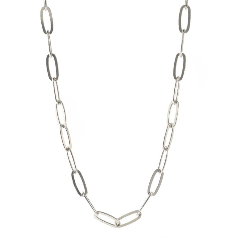 Xl Sterling Silver Links Necklace image