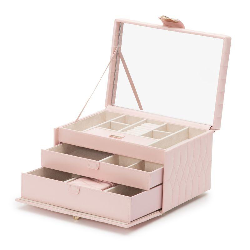 Caroline Medium Jewelry Case Rose Quartz image