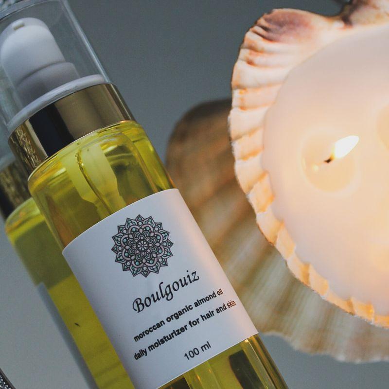 Organic Almond Oil 50ml image