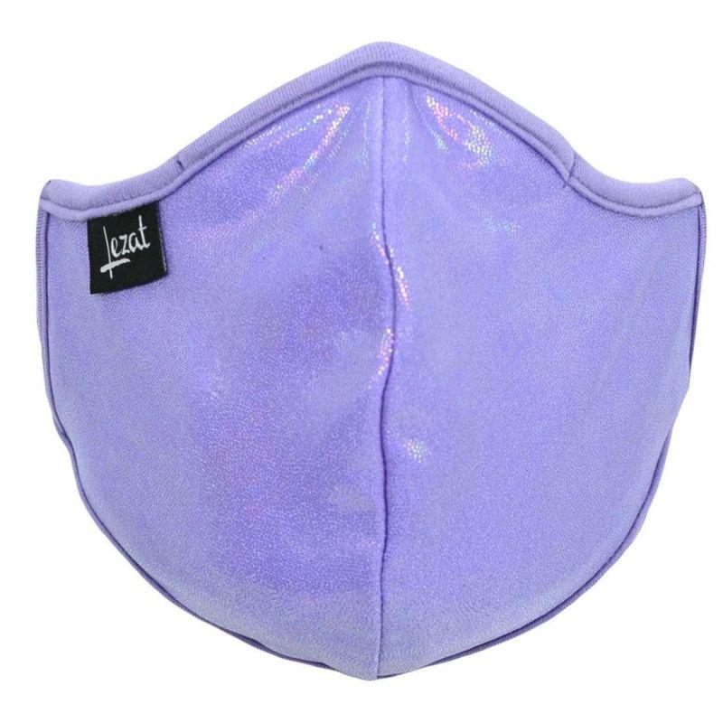 Lavender Iridescent Face Mask image
