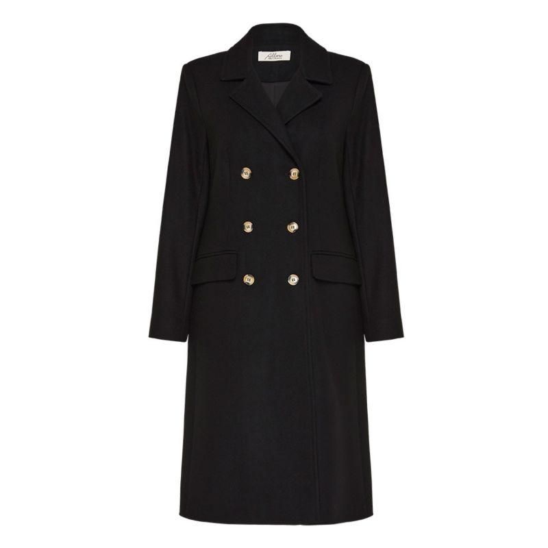 Belmont Wool Cashmere Coat - Black image