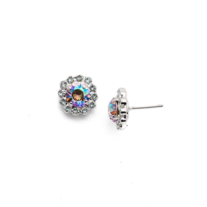 Emani Stud Earrings - Nantucket Blue image
