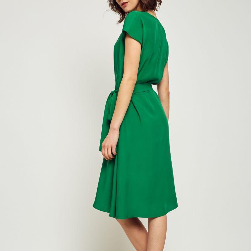 Kiwa Midi Green Dress image