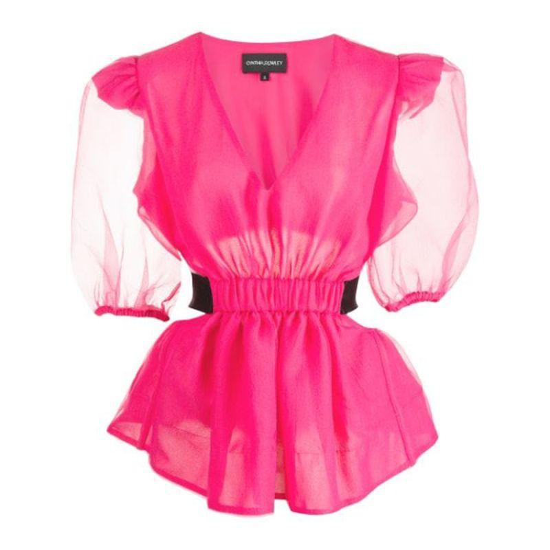 Pink Gracie Organza Top image