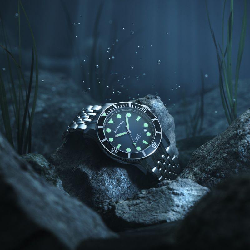 Verne Nautilus Black - Beads of Rice Bracelet image