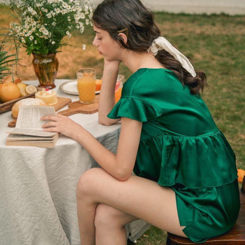 Flutter-Sleeves Midsummer Afternoon Short Set image