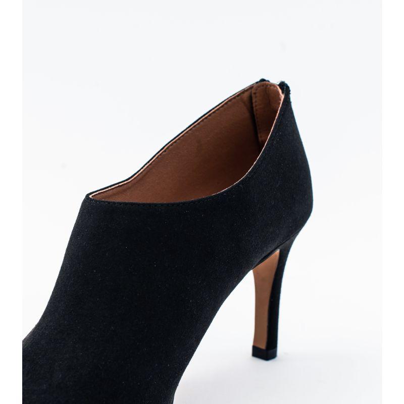 Olivia Black Vegan Suede Shoeboot image