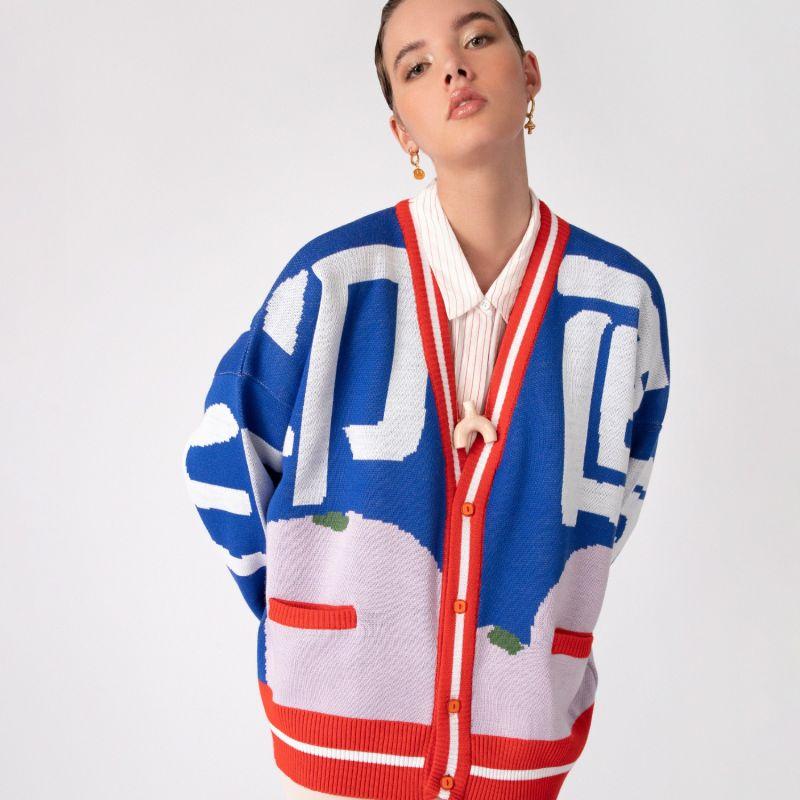 Red Knitwear Appel Sweater image