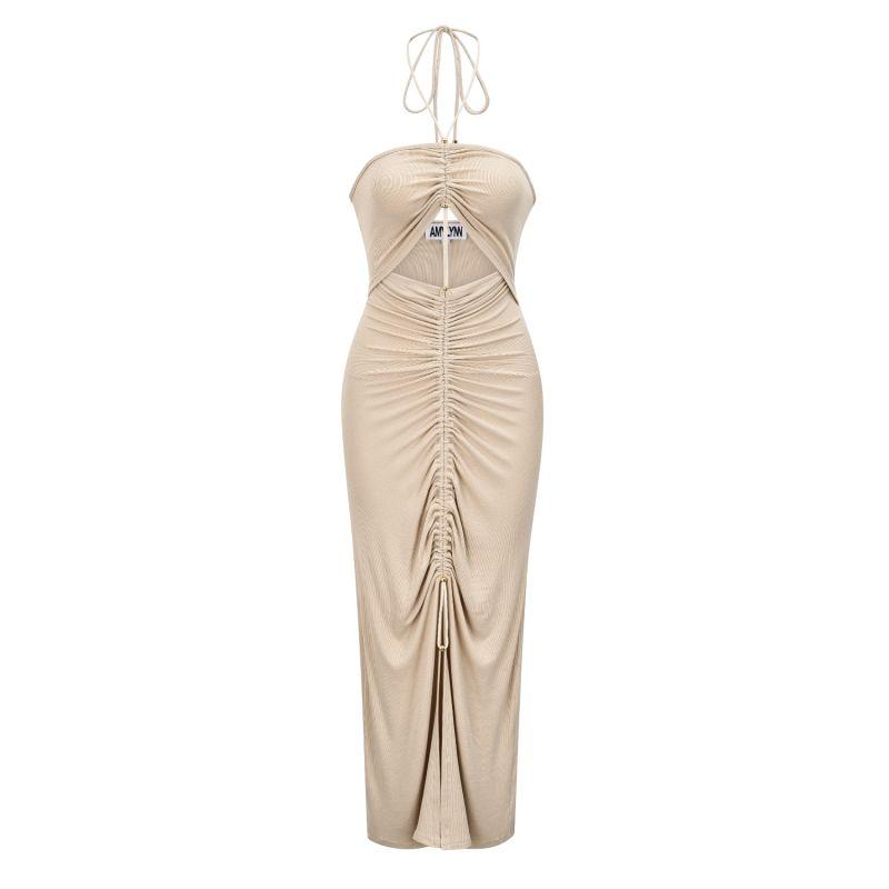 Vega Dress In Beige image