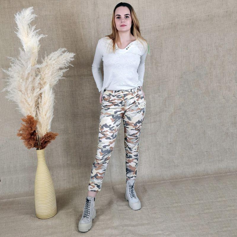 Five-Pocket Camo Pants image