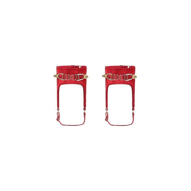 Secure Anklets - Red image