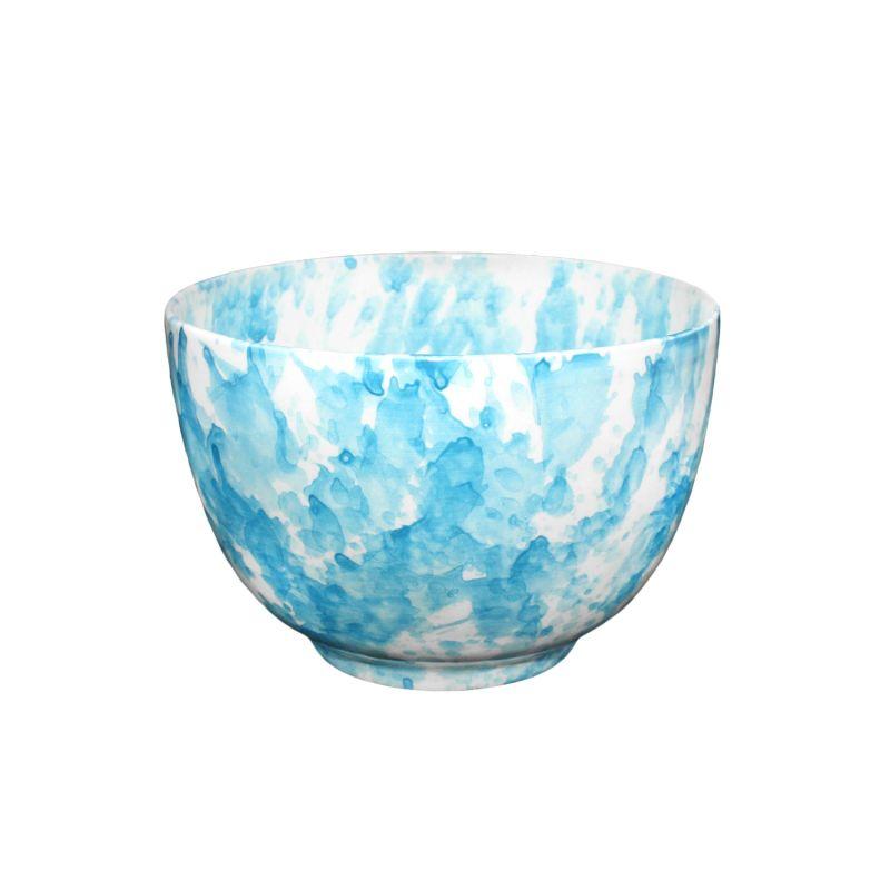 Soup Bowl - Sky Blue   Speckle image
