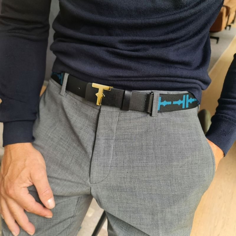 Uniko Belt - Gold Men image