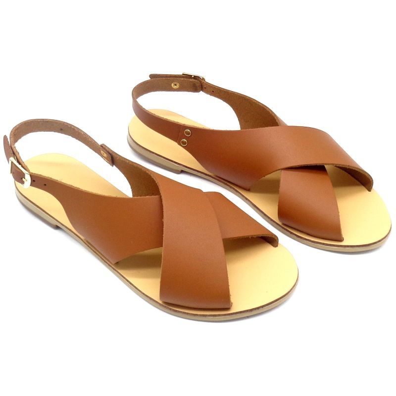 Sandals Elpis Tan (Brown) image