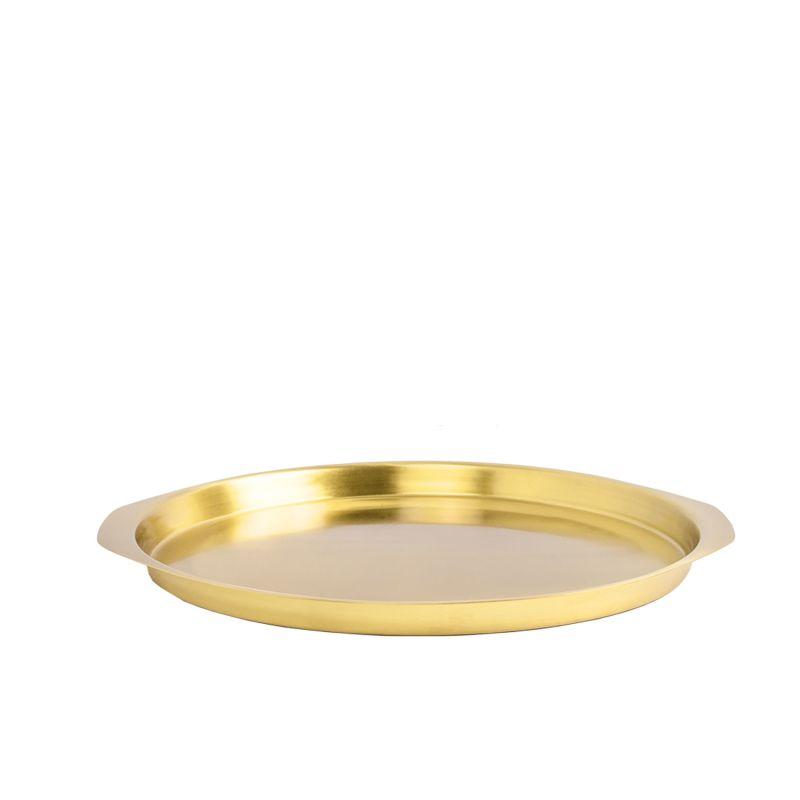 Sama Brass Tray, Large image