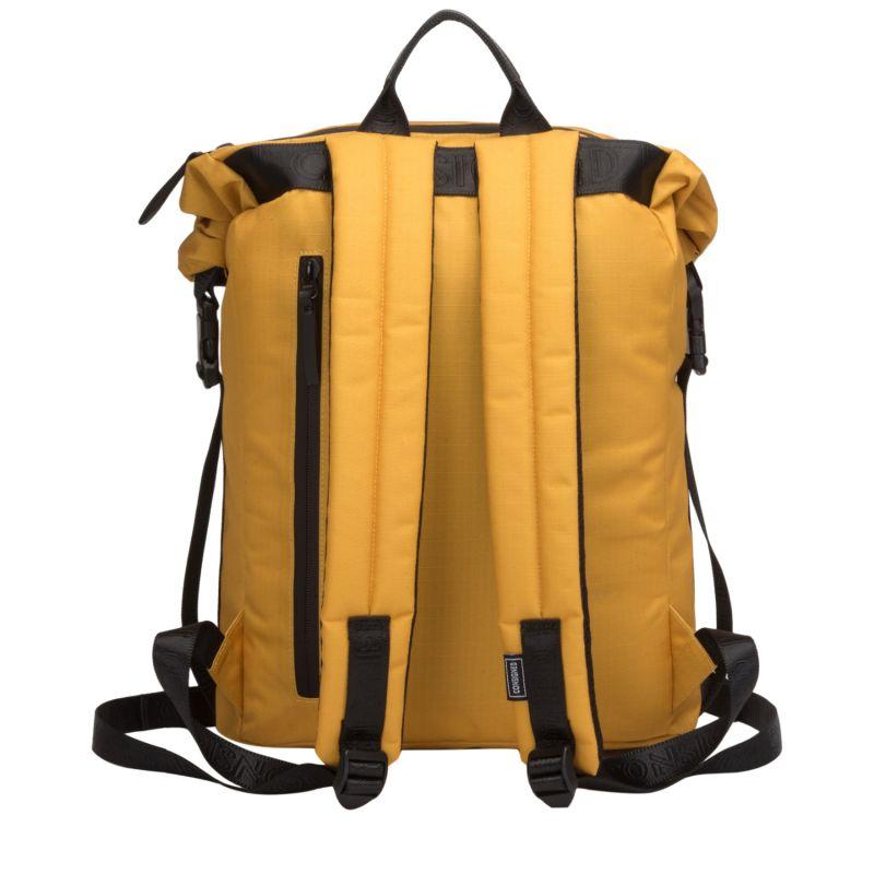 Cornel L Roll Top Backpack Mustard image