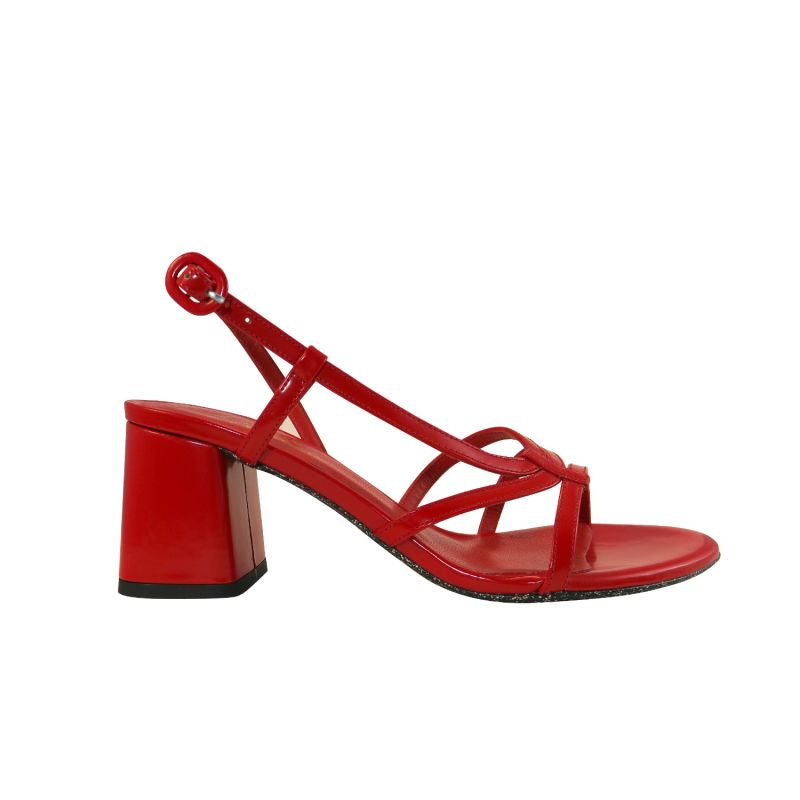 Snoh Red Sandals image