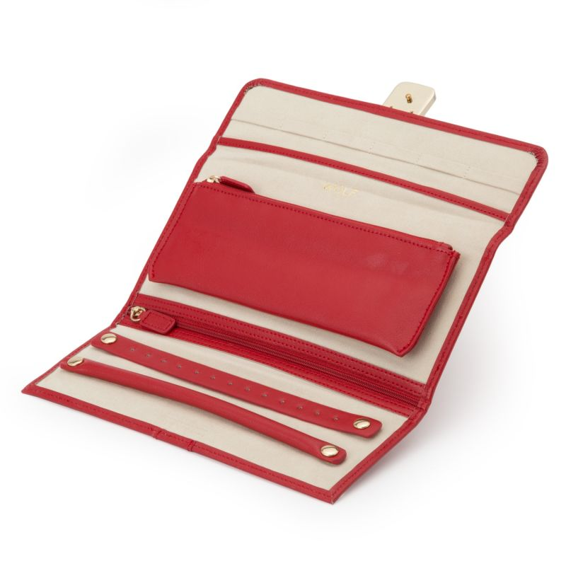 Palermo Jewelry Roll Red image