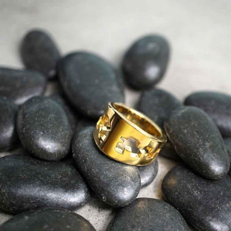 Icebreaker Ring Gold Shiny Men image