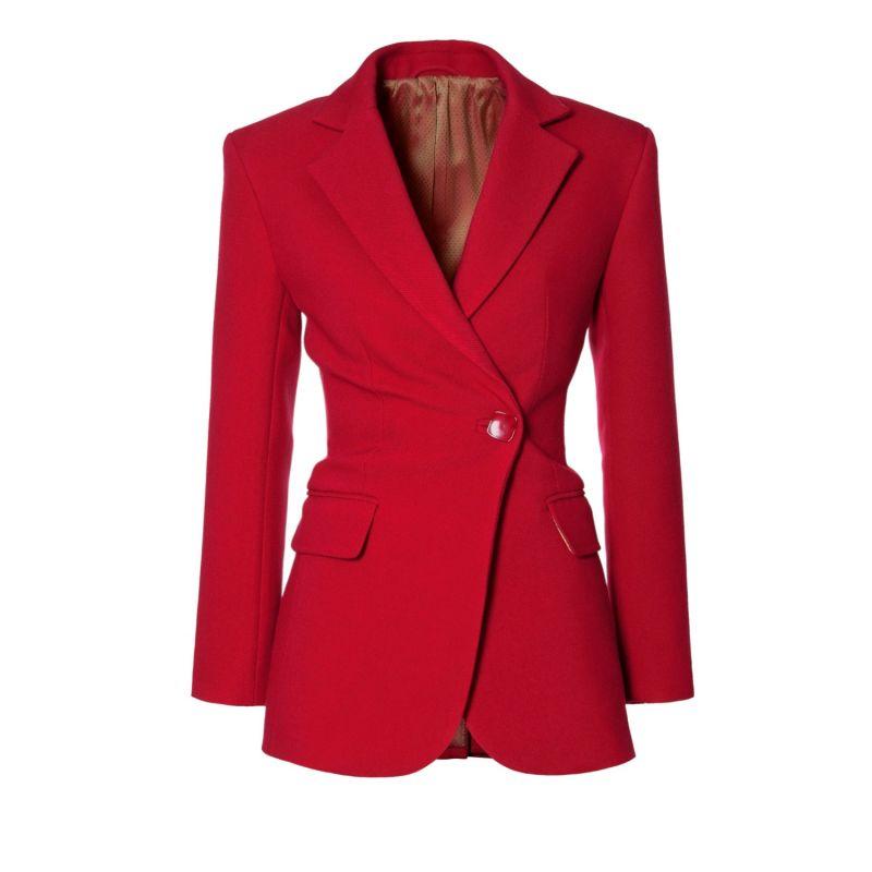 Isabella Lipstick Red Blazer image