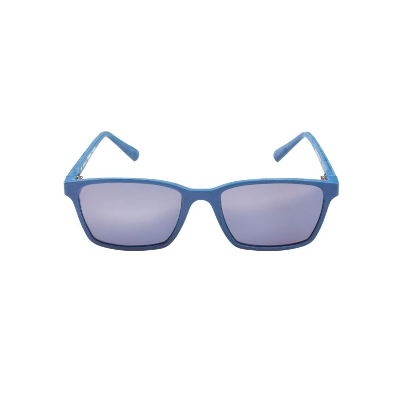 Ridley Recycled Sunglasses In Blue image