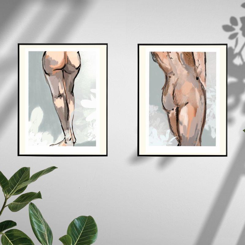 Pose I Giclee Art Print 29x42 image