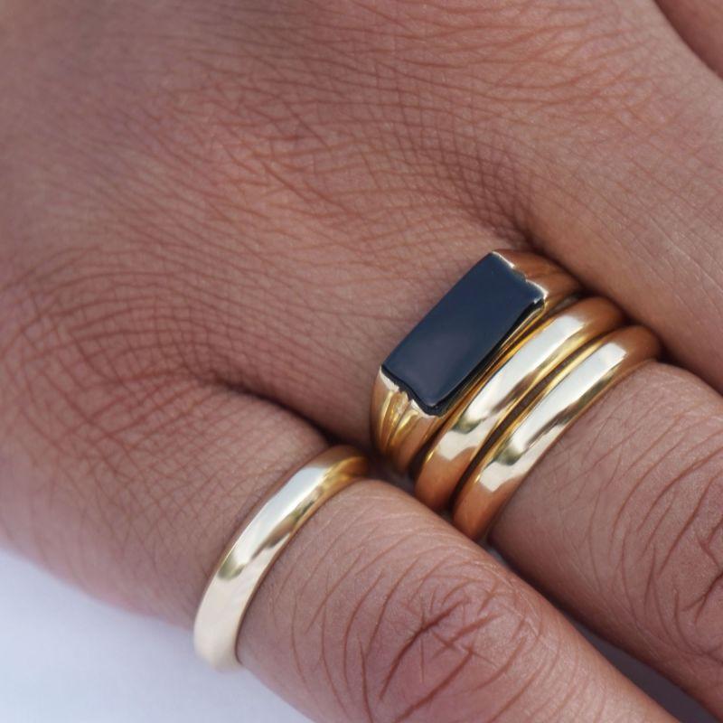 Pawnshop Signature Onyx Pinky/Signet Ring image
