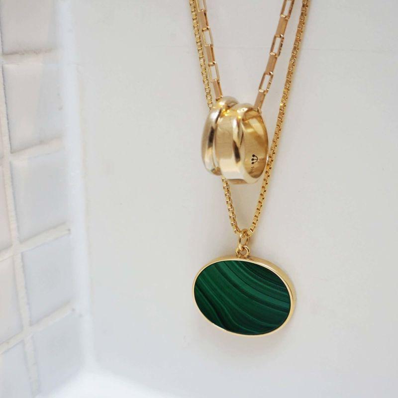Pawnshop Signature Malachite Necklace image